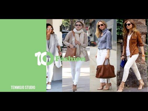 White Pants من دولابك لوك البنطلون الأبيض وطرق تنسيقه مع الملابس Youtube Fashion Fashion Dresses Coat
