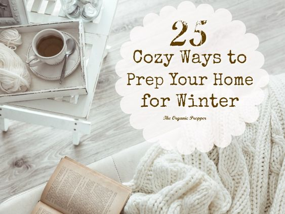 One of the best ways to brace yourselves for the onset of cold weather, winter storms, and potential power outages is to prep your home for the season.: