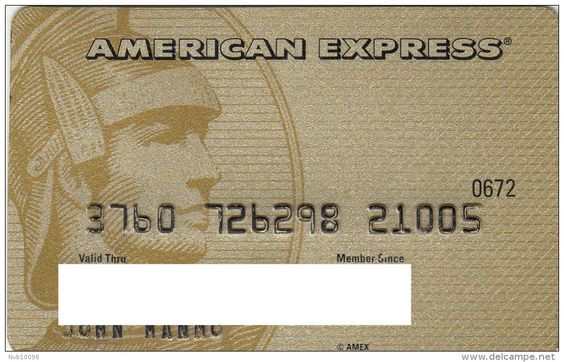 American Express Gold 376072 | Centurion left | Australia