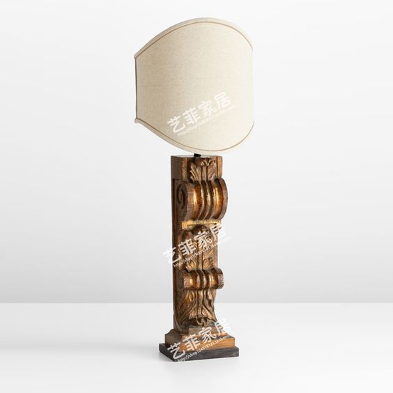 foreign american country living room table lamp bedroom bedside lamp