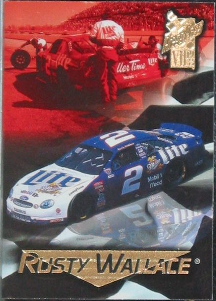 Rusty Wallace Press Pass VIP 1998 Card No. 46  Nascar  http://www.webstore.com/store,pgr,Motor-Racing,category,1551,parent_id,181753,user_id,shop