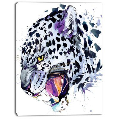 Splash Paint Jaguar Men/'s Tee Image by Shutterstock