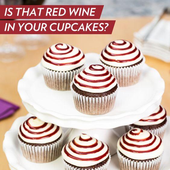 ... Cupcakes | Pinterest | Red Wines, Wine Cupcakes and Philadelphia Cream