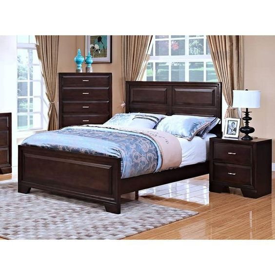 Garrett King Bed in Chestnut | Nebraska Furniture Mart