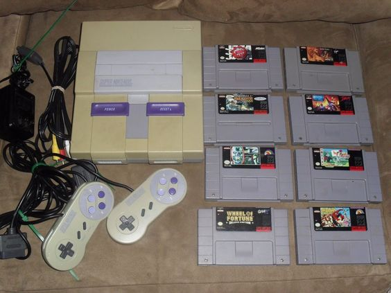 Super Nintendo SNES Console Complete System Bundle 8 Games 2 Controllers  $107.99End Date: Saturday Sep-10-2016 19:21:56 PDTBuy It Now for only: $107.99Buy It Now | Add to watch list