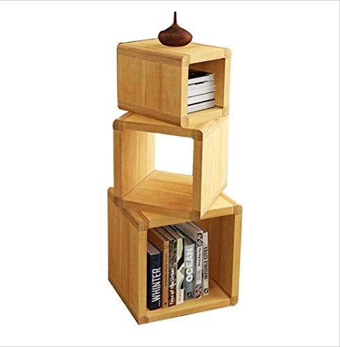 End Of The Desert Solid Wood Combination Bookshelf Bookcase Low