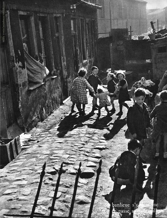 Aubervilliers 1950 - Willy Ronis