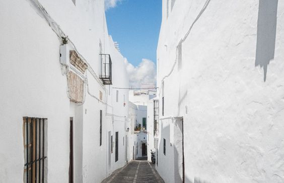 Vejer de la Frontera Andalusien, Spanien