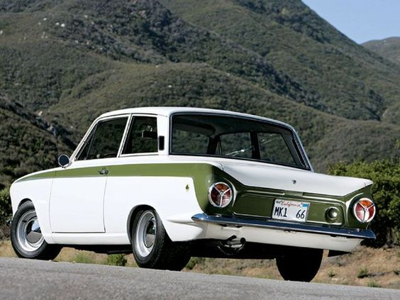 Lotus Cortina 1966- I still want one of these to race for some unknown reason. ..........Classic 1960's hot car .... the Lotus Cortina is so cool! #LotusCortina  #RePin by AT Social Media Marketing - Pinterest Marketing Specialists ATSocialMedia.co.uk
