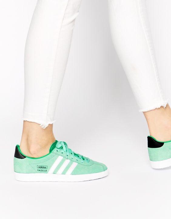 Adidas Gazelle Blau Grün