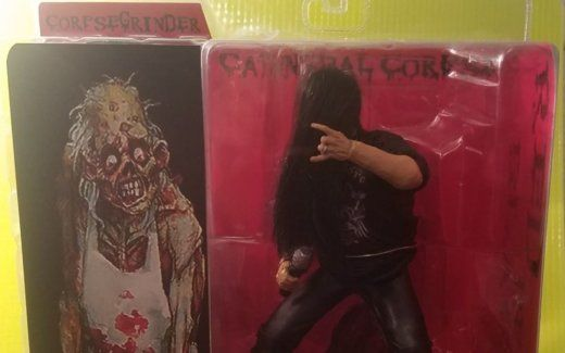 Cannibal Corpse S George Corpsegrinder Fisher Is An Action Figure Now In 2020 Corpse Action Figures Figures