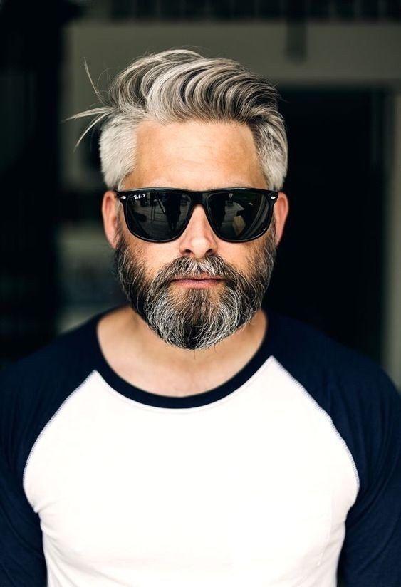 coupe barbe en collier homme tendances