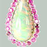 Opal Earrings by Ava Alexander