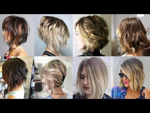 Balayage Ombre Short Hair 2018 Bob Haircuts 2019 Youtube Balayage Hair Short Ombre Hair Medium Hair Styles