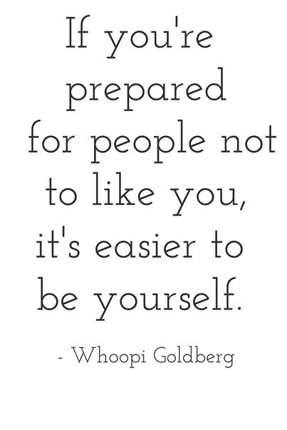 good advice -- whoopi goldberg