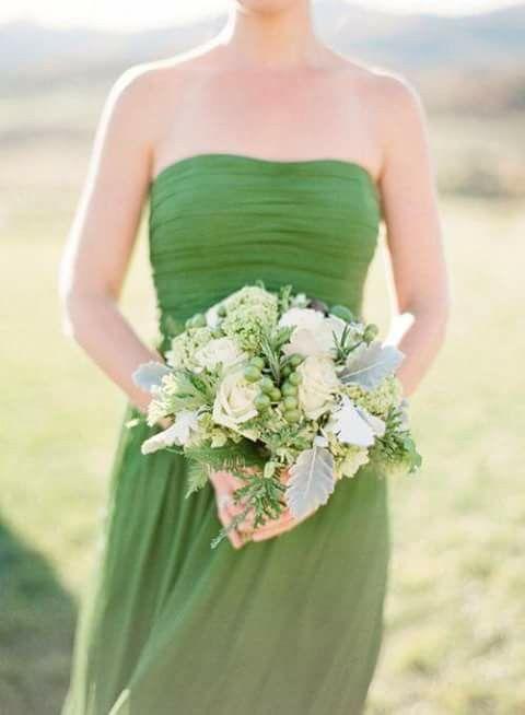 green, wedding