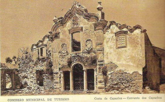 Convento dos Capuchos -Almada, em 1940