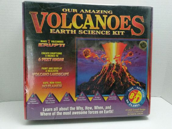 Amazing Volcanoes Earth Science Kit for Kids - Real Eruption - Educational Design #EducationalDesign ..... Visit all of our online locations ..... (www.stores.eBay.com/variety-on-a-budget) ..... (www.amazon.com/shops/Variety-on-a-Budget) ..... (www.etsy.com/shop/VarietyonaBudget) ..... (www.bonanza.com/booths/VarietyonaBudget ) .....(www.facebook.com/VarietyonaBudgetOnlineShopping)