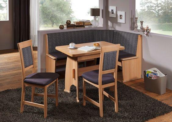 Eckbankgruppe Imola 2 Tischgruppe 130x168 Buche Bezug Braun 20962. Buy now at https://www.moebel-wohnbar.de/eckbankgruppe-imola-2-tischgruppe-130x168-buche-bezug-braun-20962.html