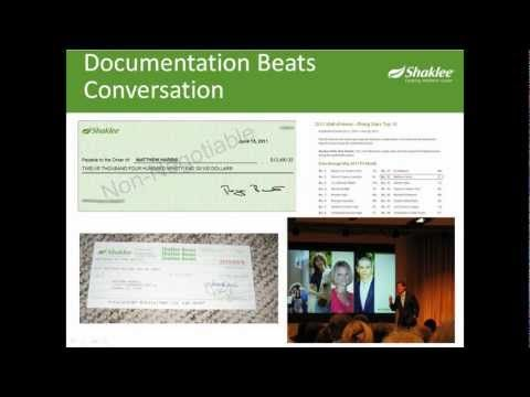 "Shaklee Dream Plan - A brand new compensation plan launched in October 2010, it has completely changed the game and people are referring to Shaklee as ""the 56 year startup company"". Watch this video and call me if you're intrigued or have any questions. 765.734.3057 Find me at suni.myshaklee.com"