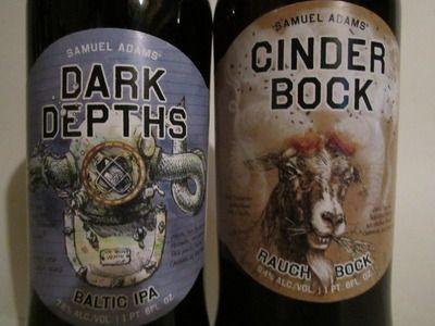 New Sam Adams beers.