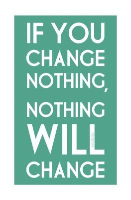Change starts within our hearts.