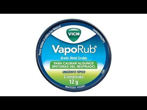 efectos secundarios vick vaporub