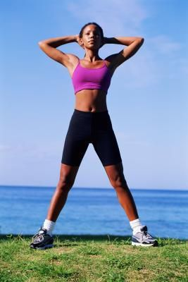 exercises for saddlebags on women  shape thighs and the