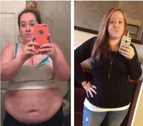 """My Darling friend Amanda..she is doing GREAT! :) Ready yet? Start here--> www.mrsmcgraw.sbc90.com """"Okay guys. It's embarrassing how bad I let myself get in the first picture but I am so proud at how far I have come. Skinny fiber is what I started with October 5th and then switched to skinny body max December 24th. Down 41 lbs and a ton of inches!"""