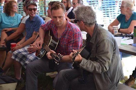 Tom Hiddleston. Via @RodneyJCrowell #Wheatland 2014