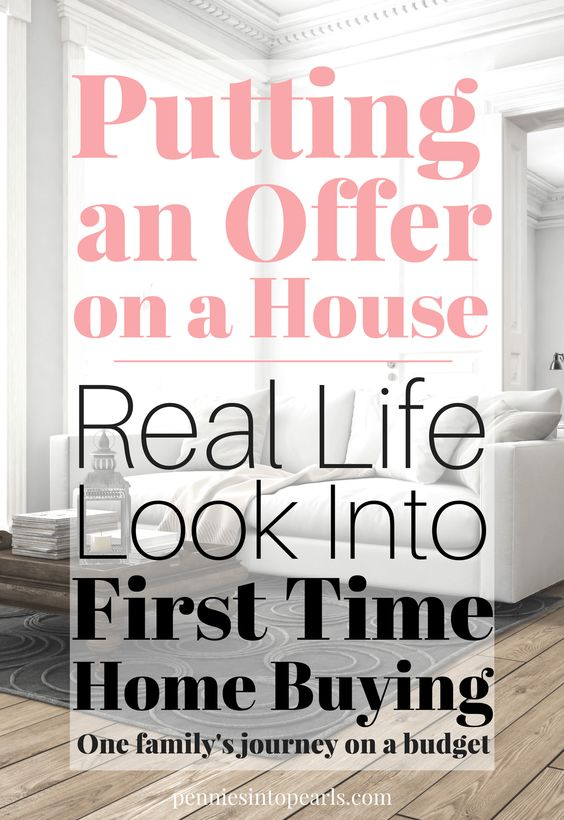 What goes into putting an offer in on a house? One of the top first time home buyer questions answered in simple terms. What goes into buying your first home? What types of first time home buyer programs are available? This family is sharing everything they learn along their first time home buying journey!