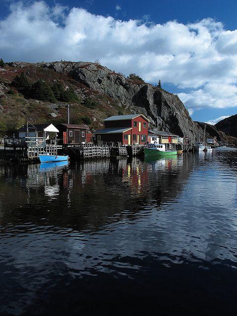 Quidi Vidi Village, St John's, Newfoundland - Canada