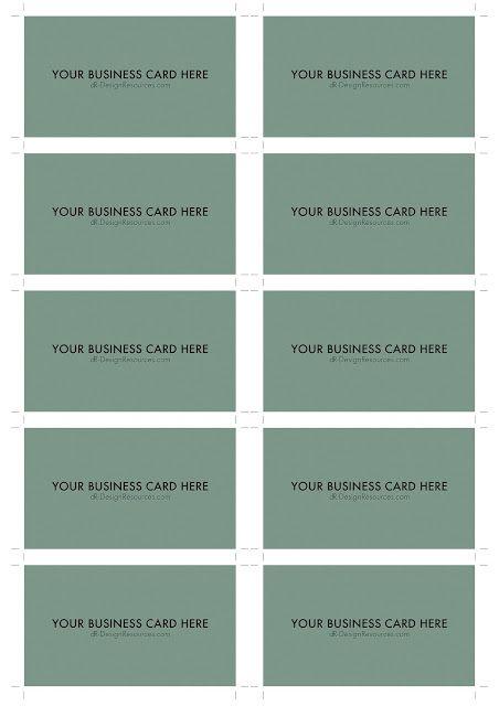 A4 Business Card Template Psd 10 Per Sheet Business Card Template Photoshop Free Business Card Templates Business Card Template Psd