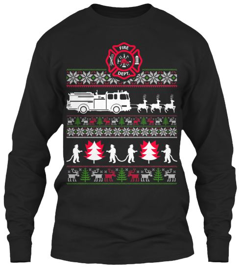 Ugly sweater, Firefighters and Sweaters on Pinterest
