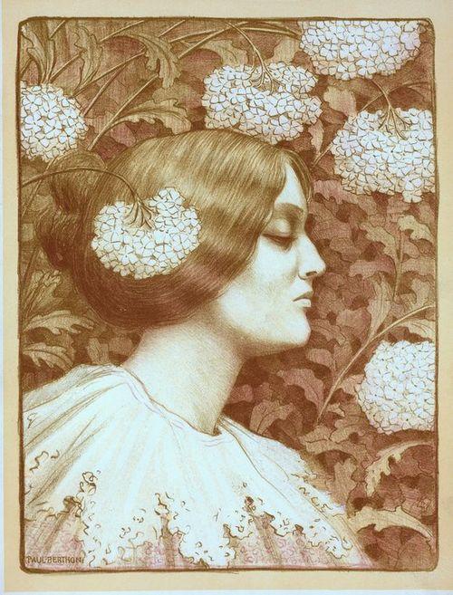 """turnofthecentury:    Paul Berthon ~Original desing for """"Maîtres de l'Affiche"""", 1896-1900:"""
