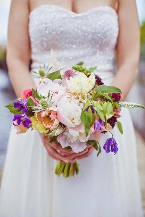 joli bouquet de mariée idées et inspirations