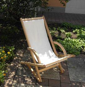 Schaukelliegestuhl mit Stoff - werkstatt-design