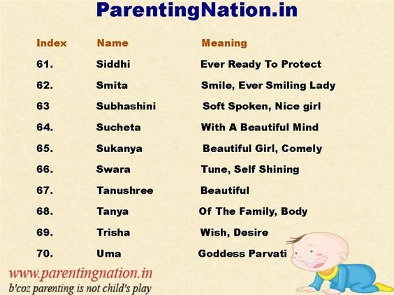 Sanskrit Baby Girl Names With Accurate Meaning For Your Cute Choose The Best Name