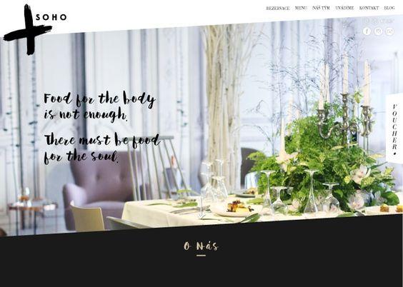 Soho Restaurant And Lounge Css Website