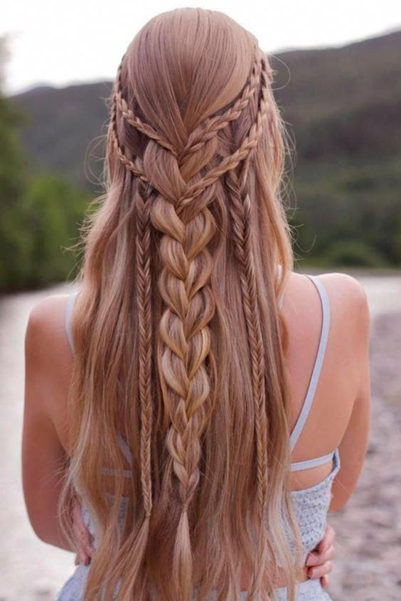 The Only Braid Styles You Ll Ever Need To Master Braids For Long Hair Cool Braid Hairstyles Medium Length Hair Styles