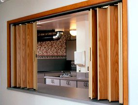 Residential woodfold accordion partitions accordion for Folding walls residential