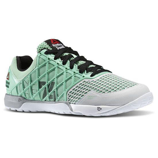 Reebok Crossfit Nano 4.0 Womens Gray Mesh Athletic Cross Training Shoes