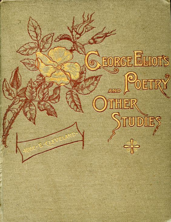 george eliots poetry and other studies