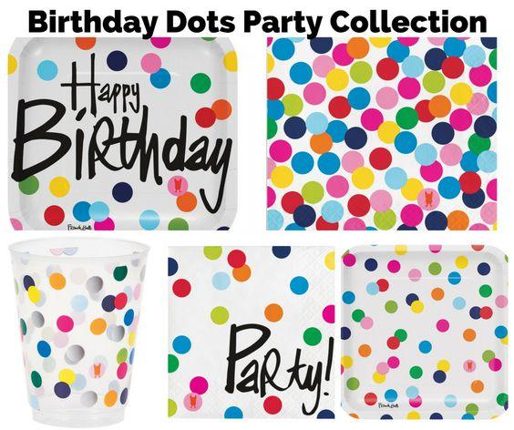 Birthday Dots Party