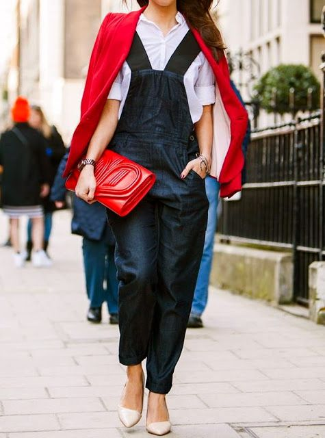 Denim Overall are in :The Style Climber