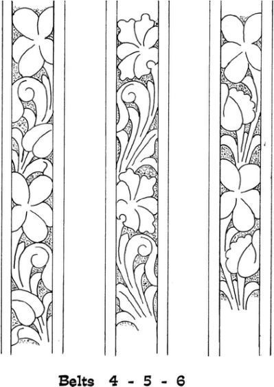 Found On Bing From Www Pinterest Com Leather Tooling Patterns Tooling Patterns Leather Tooling