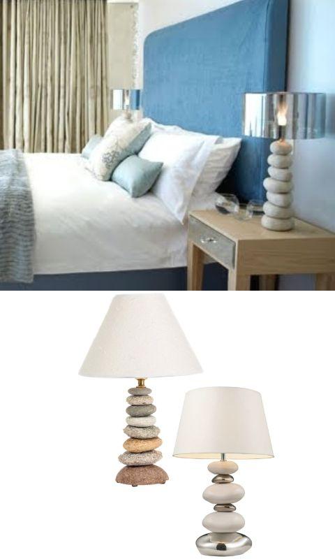 Classic Coastal Theme Table Lamps Coastal Bedroom Furniture