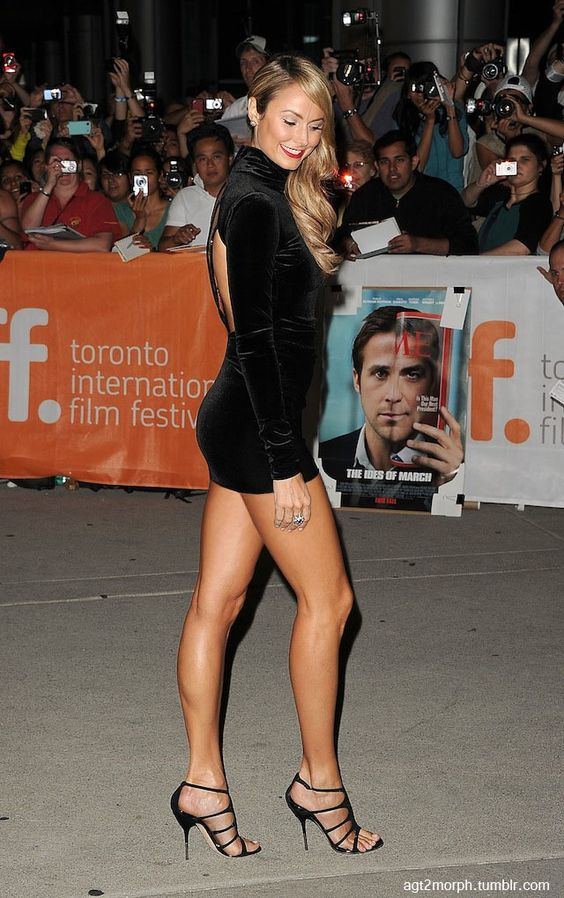 Stacy Keibler (born: October 14, 1979, Rosedale, MD, USA) is an American actress, model, dancer, cheerleader Pro Wrestler and valet. Keibler dated George Clooney. She is married to Jared Pobre.