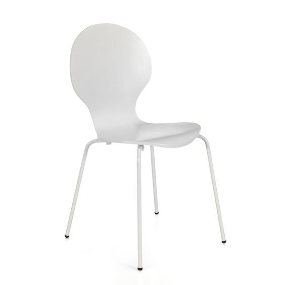 Chaises blanches alinea