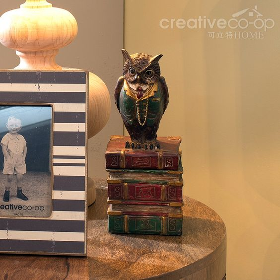 Owl Boxes, Decorative Storage ★ Creative Co-Op Home